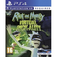 Rick and Morty Virtual Rick-Ality (Playstation 4)