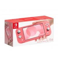 Prenosna konzola Nintendo Switch Lite Coral - roza barve