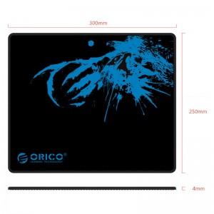 Podloga za miško ORICO MPA3025, mehka, črna (MPA3025-BK)
