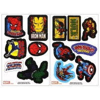 PALADONE MARVEL COMICS IRON ON PATCHES