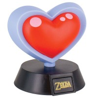 PALADONE THE LEGEND OF ZELDA HEART CONTAINER 3D LIGHT