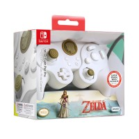 Kontroler PDP NINTENDO SWITCH FIGHT PAD PRO ZELDA WHITE