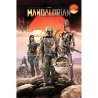 Pyramid STAR WARS THE MANDALORIAN (GROUP) MAXI plakat
