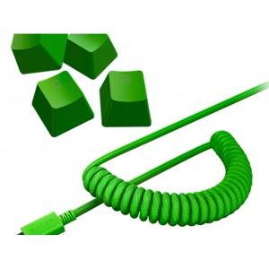 Komplet tipk PBT Keycap Upgrade Set - Razer Green (RC21-01490400-R3M1)