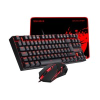 GAMING SET 3 IN 1 COMBO REDRAGON K552-BA-2