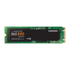 SSD 1TB M.2 80mm SATA3 V-NAND TLC, Samsung 860 EVO (MZ-N6E1T0BW)