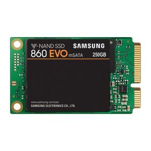 SSD 250GB mSATA3 V-NAND TLC, Samsung 860 EVO (MZ-M6E250BW)