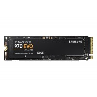 SSD 500GB M.2 80mm PCI-e 3.0 x4 NVMe, TLC V-NAND, Samsung 970 EVO (MZ-V7E500BW)