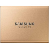 Zunanji SSD 1TB USB 3.1 Gen2 V-NAND TLC UASP, Samsung T5, zlat (MU-PA1T0G/EU)