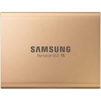 Zunanji SSD 500GB USB 3.1 Gen2 V-NAND TLC UASP, Samsung T5, zlat (MU-PA500G/EU)