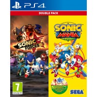 Sonic Mania Plus + Sonic Forces Double Pack(PS4)