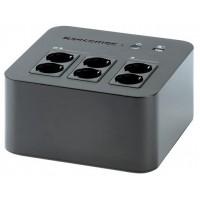 UPS SOCOMEC NeTYS PL 600VA, 360W, Off-line, USB, šuko, črn (NPL-0600-D)