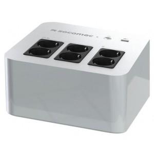 UPS SOCOMEC NeTYS PL 800VA, 480W, Off-line, USB, šuko, bel (NPL-0800-D)