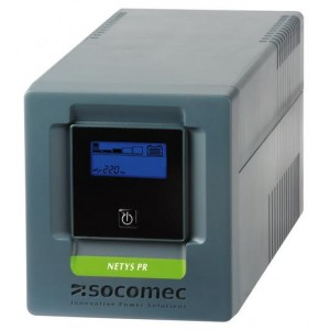 UPS SOCOMEC NeTYS PR MT 1000VA, 700W, Line-interactive, USB, LCD (NPR-1000-MT)