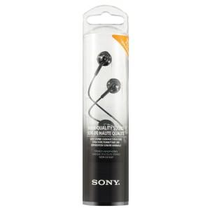 SONY Slušalke z ušesnimi čepki MDREX110LPB črne (SO-MDREX110LPB)