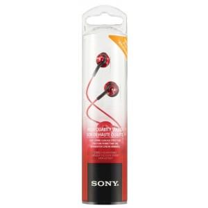 SONY Slušalke z ušesnimi čepki MDREX110LPR rdeče (SO-MDREX110LPR)