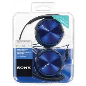 SONY naglavne slušalke, modre barve MDRZX310APL (SO-MDRZX310APL)