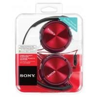 SONY naglavne slušalke, rdeče barve MDRZX310APR (SO-MDRZX310APR)