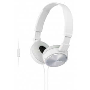 SONY naglavne slušalke, bele barve MDRZX310APW (SO-MDRZX310APW)