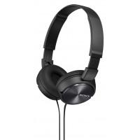 SONY naglavne slušalke, MDRZX310B črne (SO-MDRZX310B)