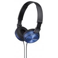 SONY naglavne slušalke, MDRZX310L modre (SO-MDRZX310L)