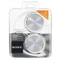 SONY naglavne slušalke, MDRZX310W bele (SO-MDRZX310W)