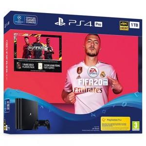 Igralna konzola PS4 1TB PRO + Fifa 20 + dodatna igra do vrednosti 30€