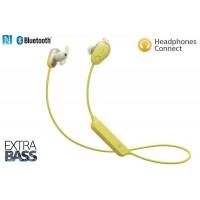 SONY BT slušalke + odprava šumov rumene (SO-WISP600NY)