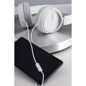 SONY naglavne slušalke, bele barve MDRZX110APW (SO-MDRZX110APW)