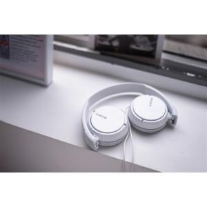 SONY naglavne slušalke, bele barve MDRZX110W (SO-MDRZX110W)