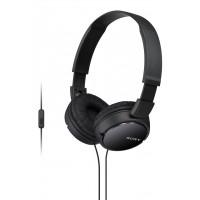 SONY naglavne slušalke, črne barve MDRZX110APB (SO-MDRZX110APB)