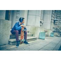 SONY slušalke + mikrofon MDR-XB550APL modre barve (SO-MDRXB550APL)