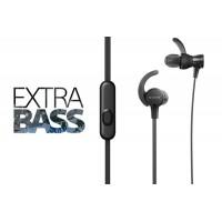 SONY Športne ušesne slušalke EXTRA BASS črne (SO-MDRXB510ASB)