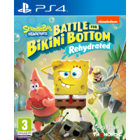 Spongebob SquarePants: Battle for Bikini Bottom - Rehydrated - Shiny Edition (PS4)