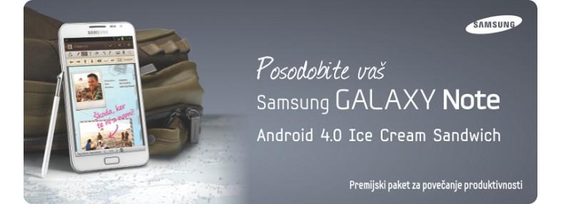 Galaxy Note - premijski paket